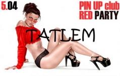 5 апреля RED PARTY в клубе Pin Up