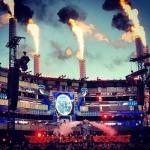 Muse завершили летний стадионный тур концертом в Хельсинки
