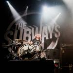 Барабанщик The Subways временно покинул группу из-за болезни
