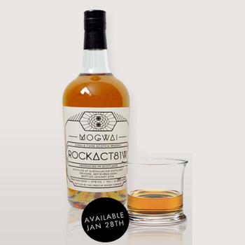 Mogwai презентовали лимитированную версию именного виски  RockAct81w