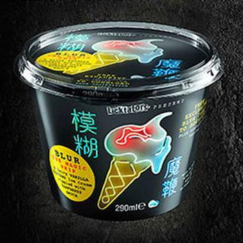 Blur выпустили мороженое под собственным брендом  The Magic Whip